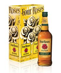 Four Roses Tin Box