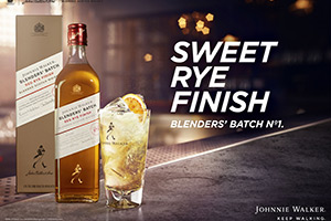 Johnnie Walker startet mit Blenders' Batch eine neue Serie Experimenteller Blended Whiskys