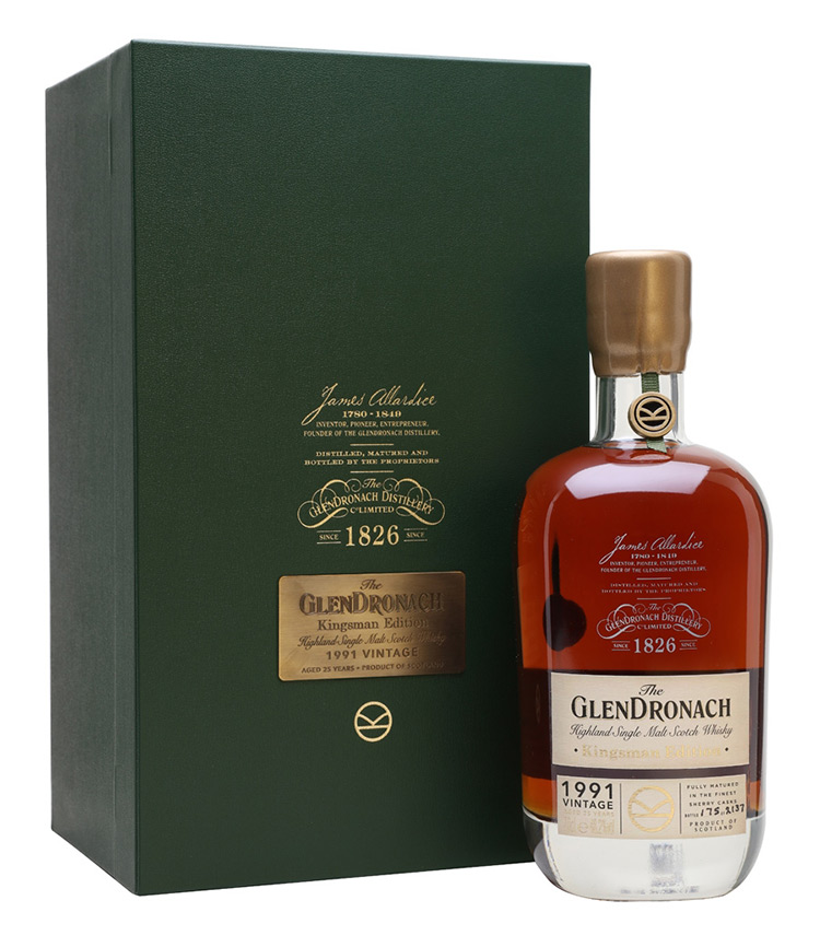 The GlenDronach Kingsman-Edition 1991