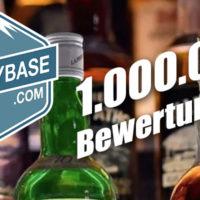 1 Mio. Bewertungen auf Whiskybase.com