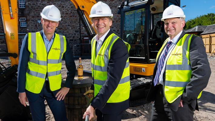 Glenmorangie legt den Grundstein zur Destillerie-Erweiterung