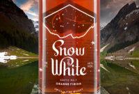 Säntis Malt Edition Snow White VI mit Orangen-Finish