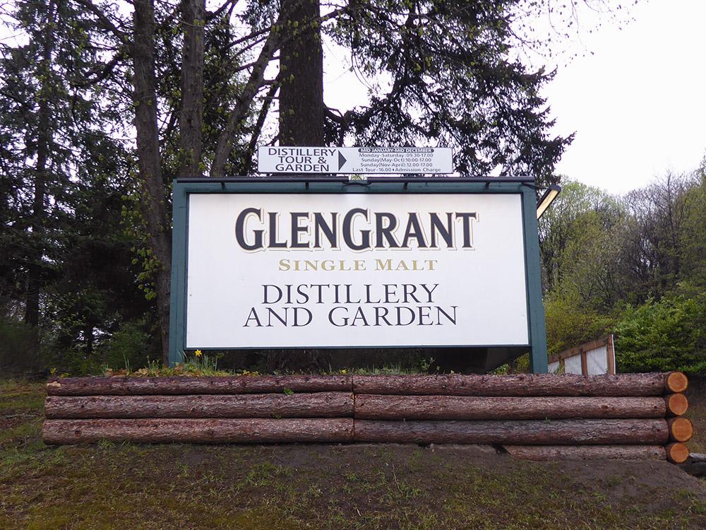 Glen Grant Sign