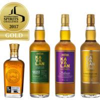 Kavalan gewinnt Gold auf der 22. International Spirits Challenge