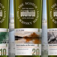Scotch Malt Whisky Society: drei exklusive torfige Single Cask Whiskies zum Islay Festival