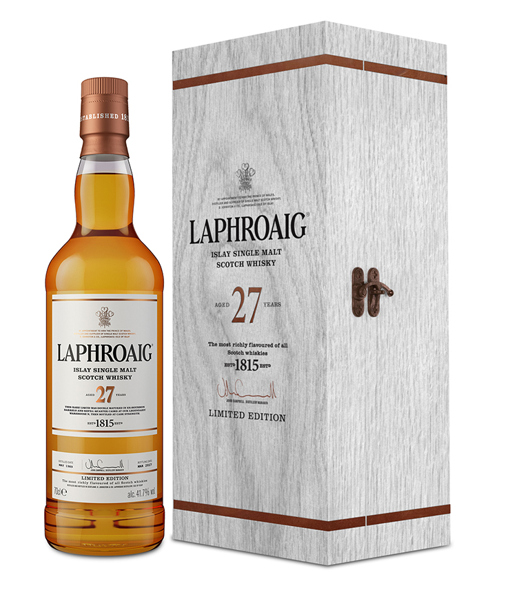 Laphroaig 27 Year Old Double Matured