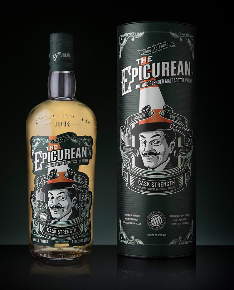 The Epicurean Cask Strength Glasgow Edition
