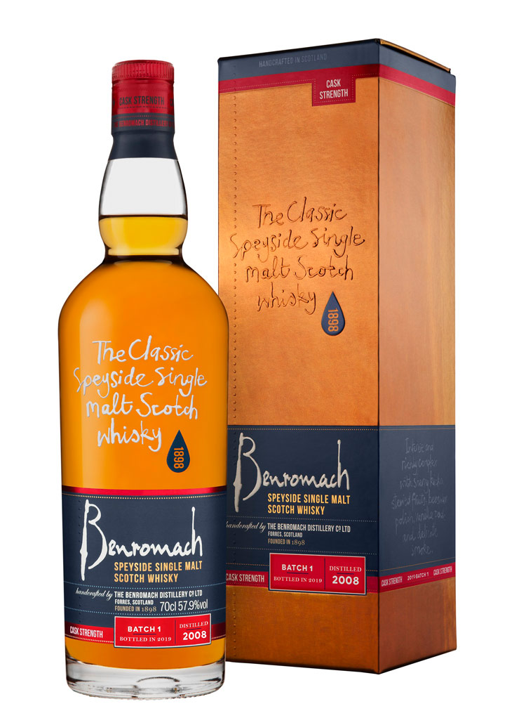 Benromach Cask Strength Batch 1 2008