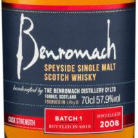 Benromach erweitert Classic-Reihe um Cask Strength Vintage 2008