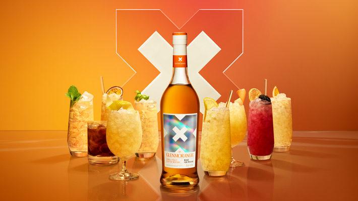 PR: Glenmorangie mit neuem Single Malt Whisky speziell zum Mixen: X by Glenmorangie